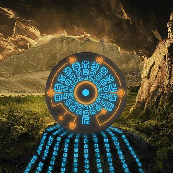 Sheikah Runes Legend Of Zelda Wireless Charger Regisbox