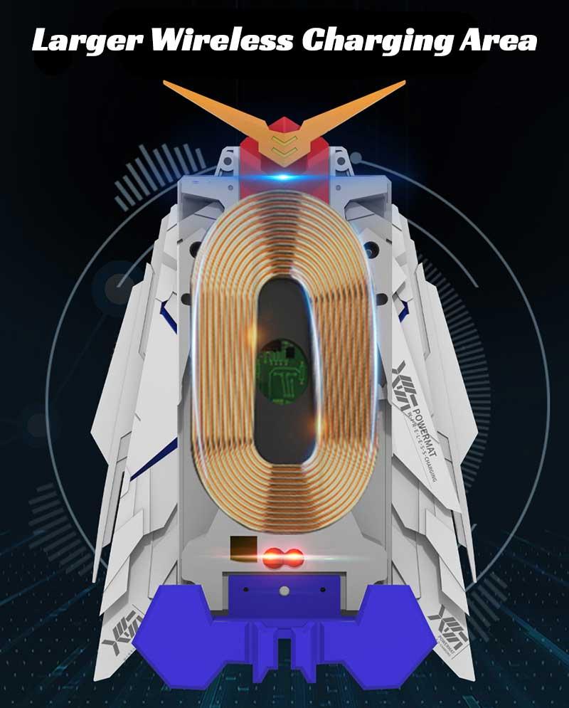 Gundam Wireless Charger Car Charger RegisBox
