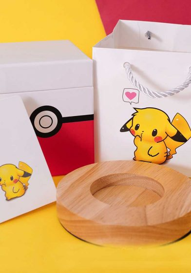 pokemon gift box pikachu gift bag regisbox