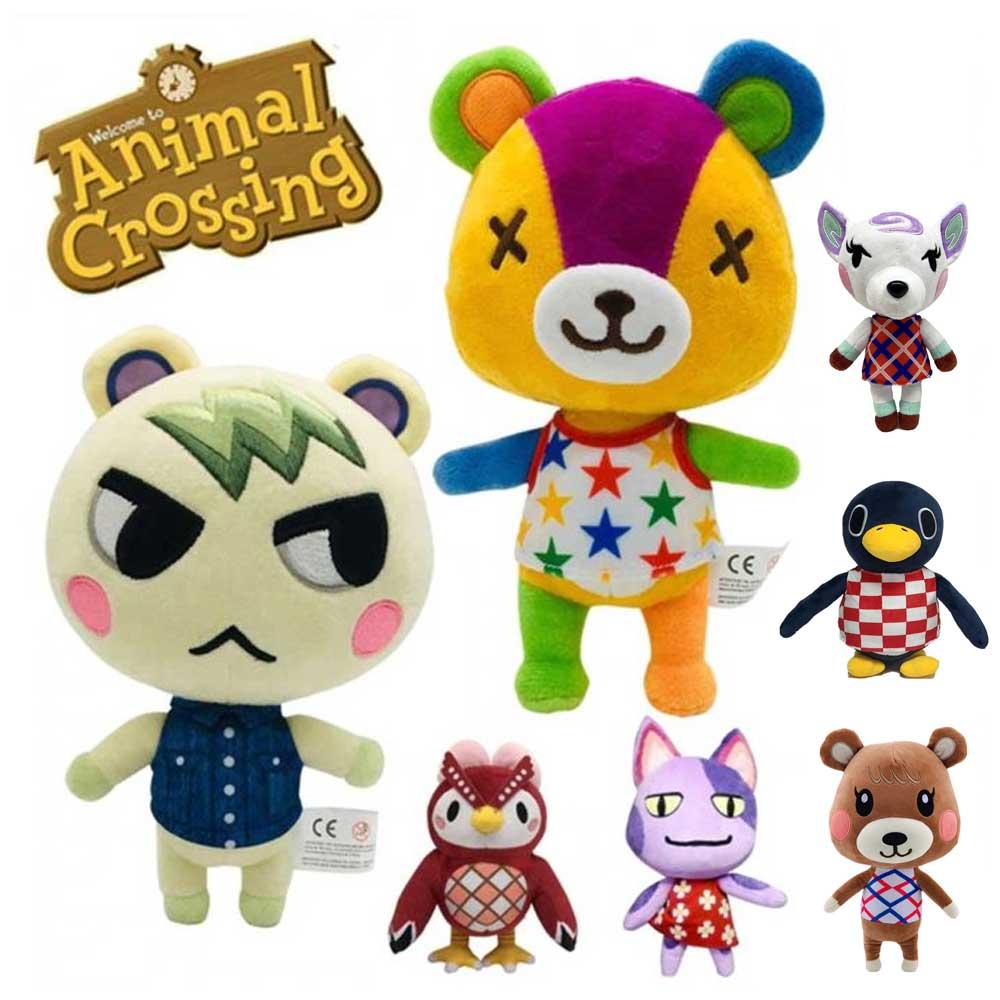 "Hot-Animal Crossing New Horizons Dom 8/"" Soft Plush Toys Stuffed Doll Kids Gifts"