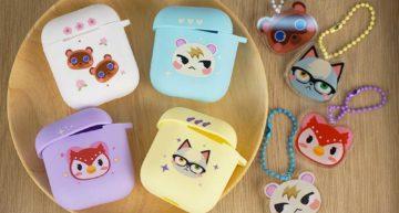 regisbox animal crossing gift animal crossing airpods case cute headphone case (2)