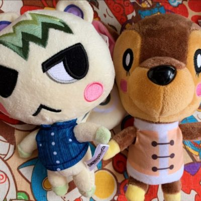 Animal Crossing Plush Toy - Stitches credit Jess T
