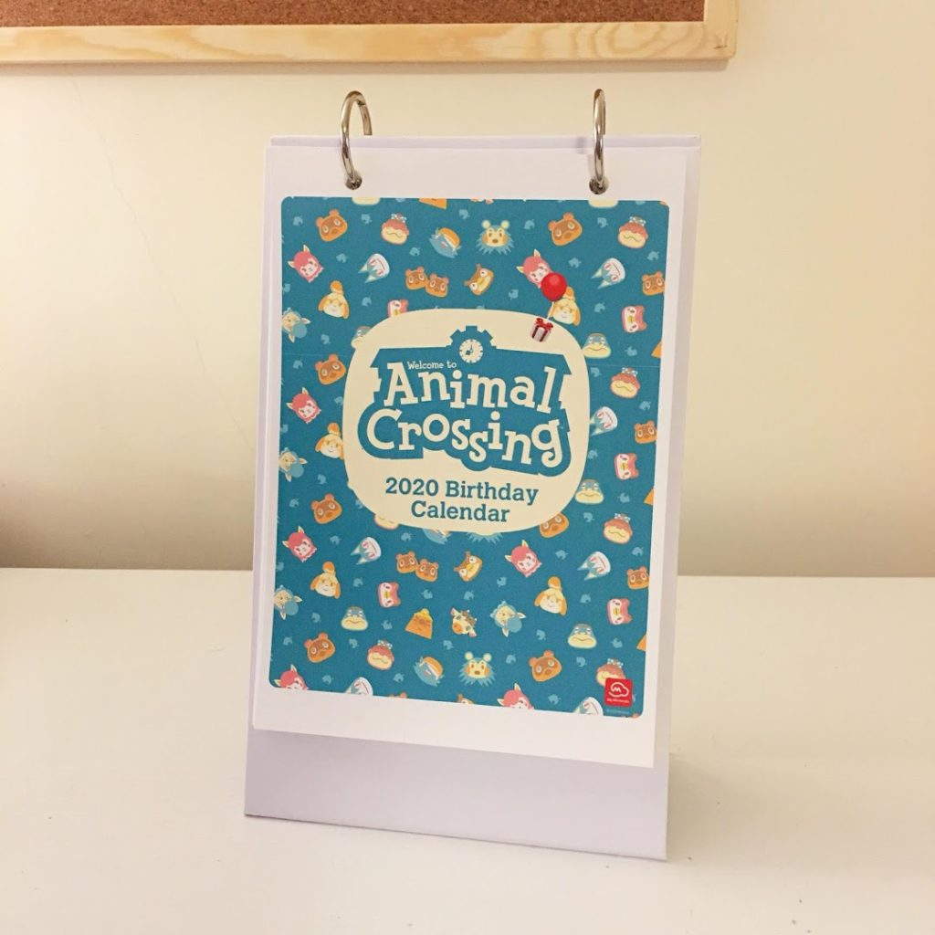 Animal Crossing Villager Birthdays Calendar Regisbox