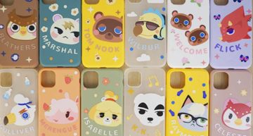 regisbox animal crossing phone case for iPhone SE XR 11 pro max wilbur dom KK tim nook isabelle