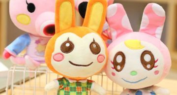 regisbox animal crossing stuffed animal toy