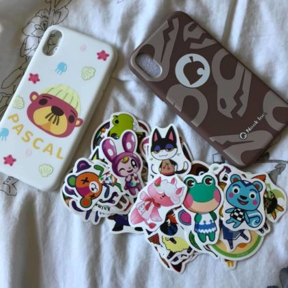 regisbox phone case review danielle H pascal animal crossing